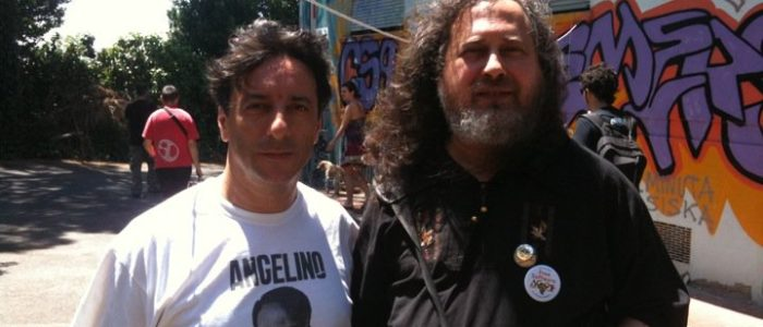 Arturo Di Corinto and Richard Stallman