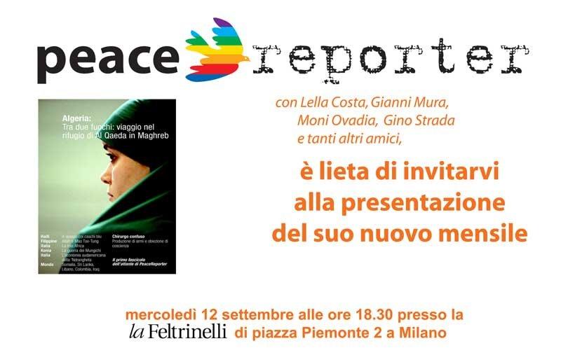 Peace Reporter a Milano