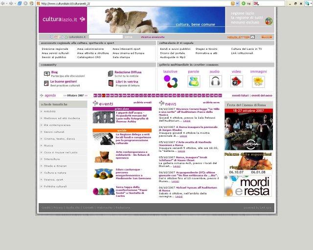 home page culturalazio small