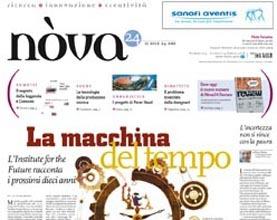 prima pagina nova 24 aprile 2008