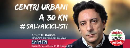 Arturo Di Corinto candidato alle elezioni regionali del Lazio, 24-25 febbraio 2013