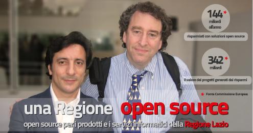 Arturo Di Corinto e Bruce Perens