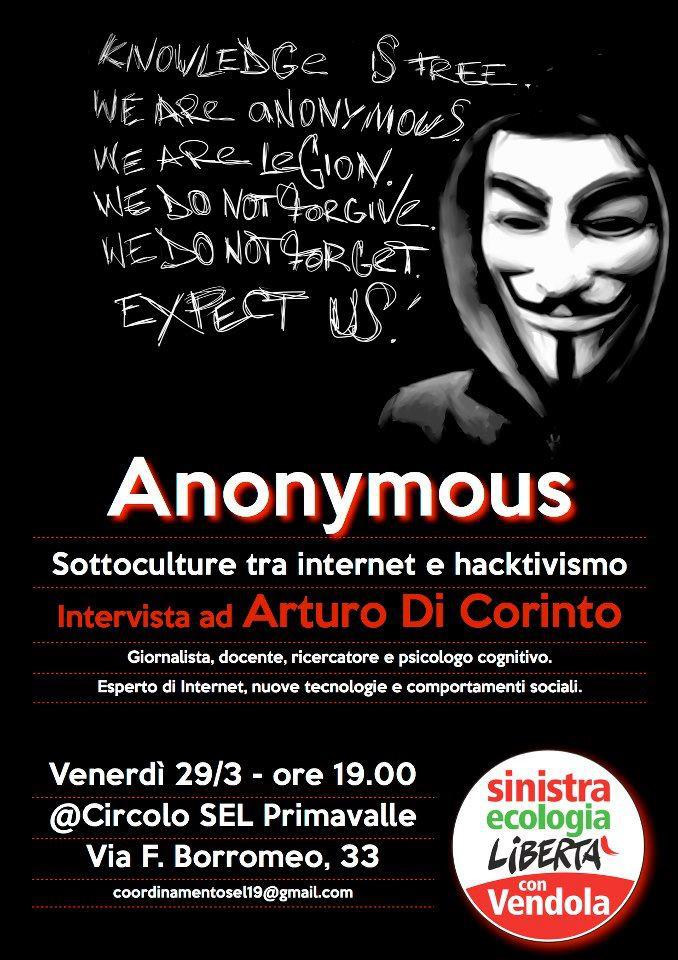 Aonymous a Primavalle (Roma)