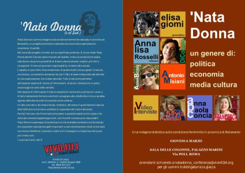 Nata_Donna_programma_conferenza