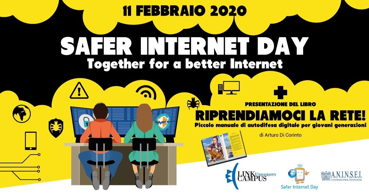 Presentazione Riprendiamoci la rete! per il Safer Internet Day