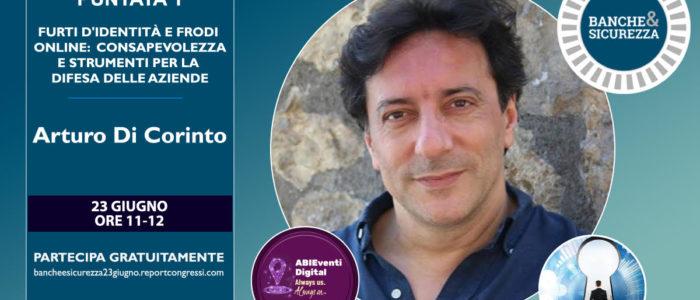 Arturo DI Corinto - Banche e Sicurezza