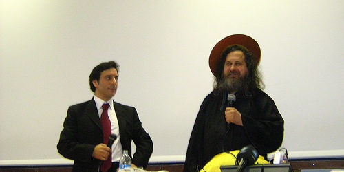 Arturo Di Corinto, Richard Stallman